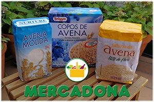 Copos de Avena Mercadona