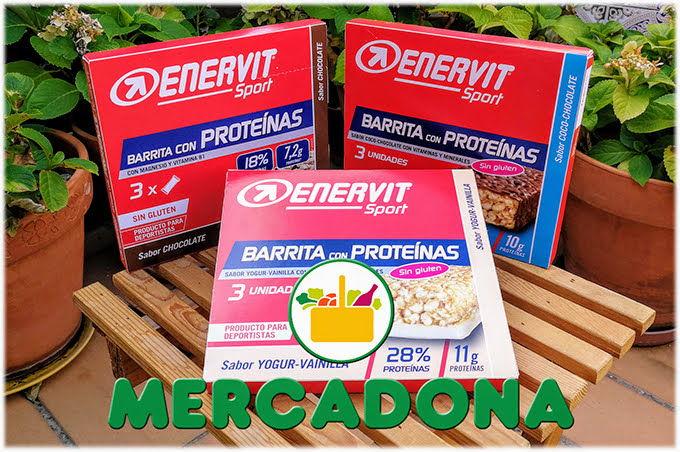 Barritas de Proteinas Mercadona