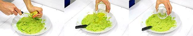 como hacer guacamole