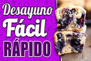 muffins receta desayuno
