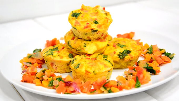 muffins fitness receta
