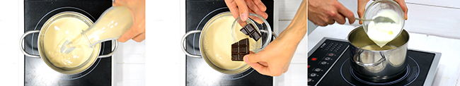 tarta de chocolate sin horno receta