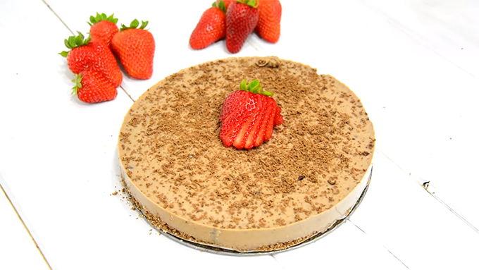 tarta de chocolate facil sin horno