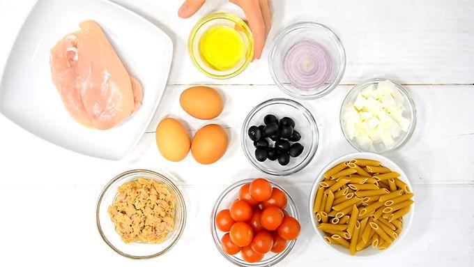 ingredientes ensalada proteinas