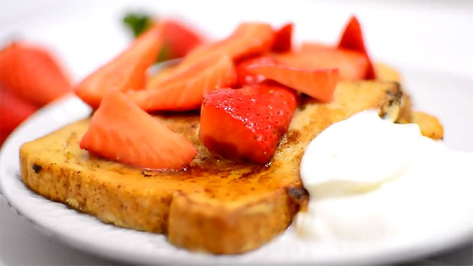 como hacer french toast