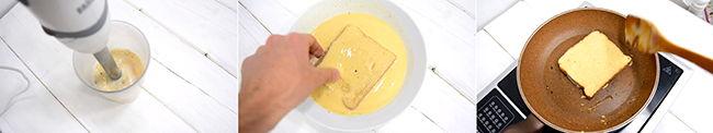 receta tostadas french