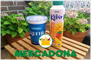 kefir mercadona ingredientes