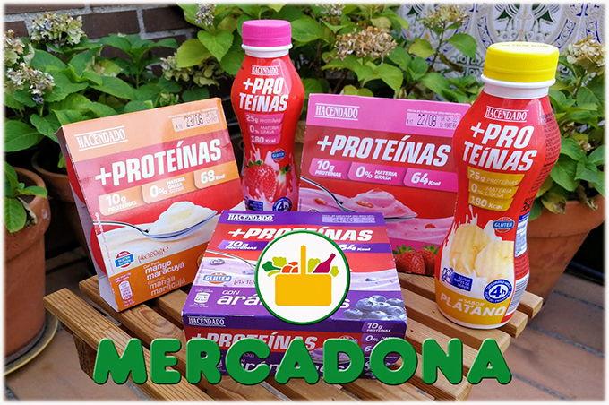 Yogur Proteinas Mercadona