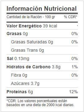 Gelatina Mas Proteina Mercadona Valor Nutricional