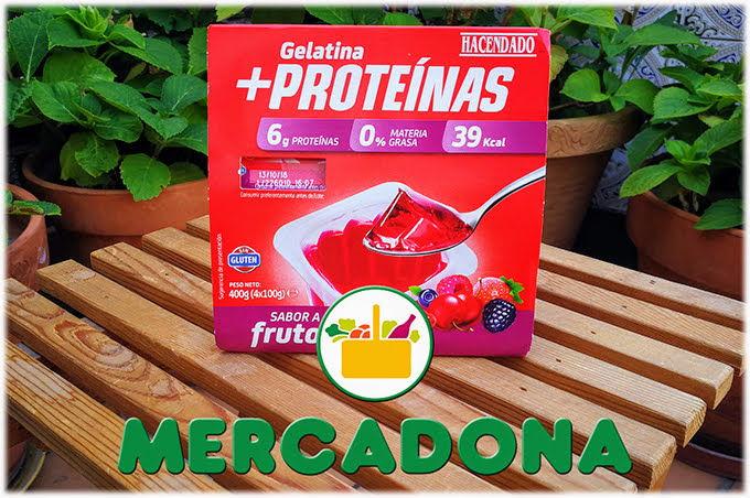 Gelatina Mas Proteina Mercadona