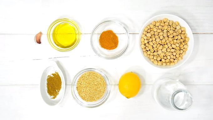 hummus ingredientes