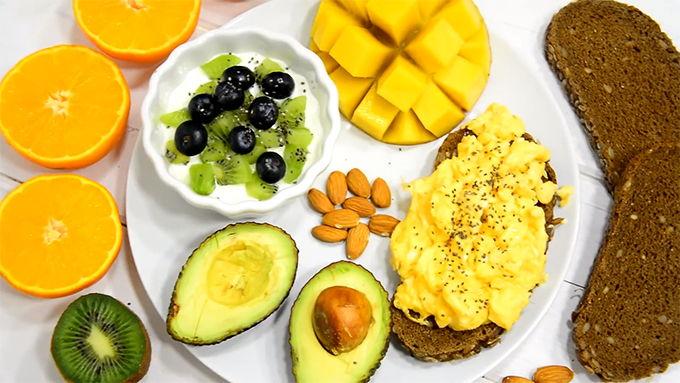desayuno tropical fitness