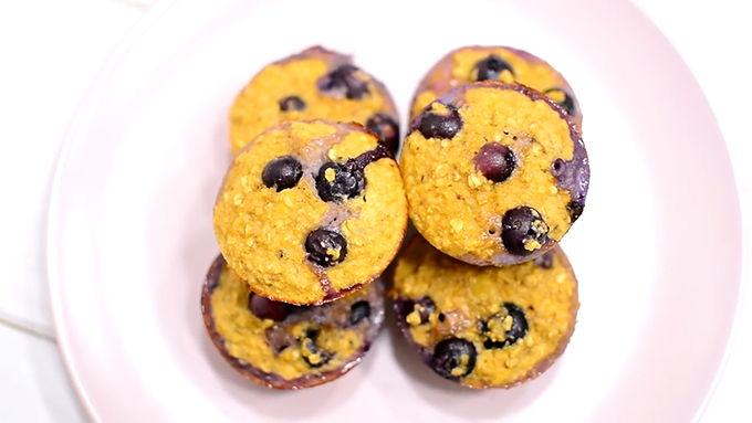 muffins saludables desayuno