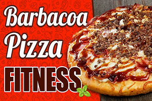 pizza fitness sabor barbacoa