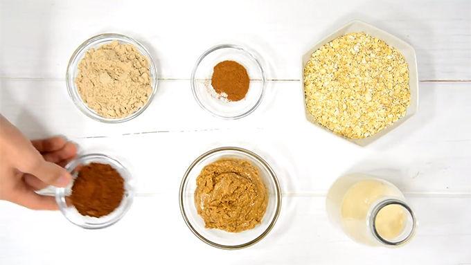 barritas de proteina ingredientes