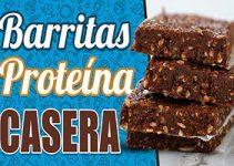 receta barritas proteicas caseras
