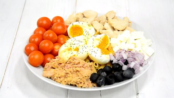 ensalada proteica