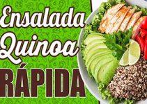 ensalada proteica de quinoa