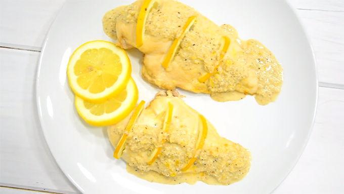 receta pollo al limon