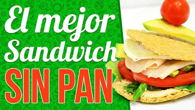 sandwich sin carbohidratos
