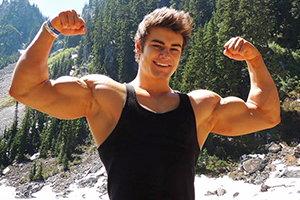 Modelo Fitness Jeff Seid