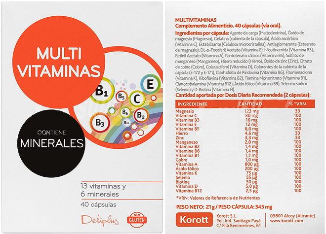 Complejo Vitamínico Mercadona Análisis Y Mejores