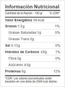 leche proteina mercadona valor nutricional