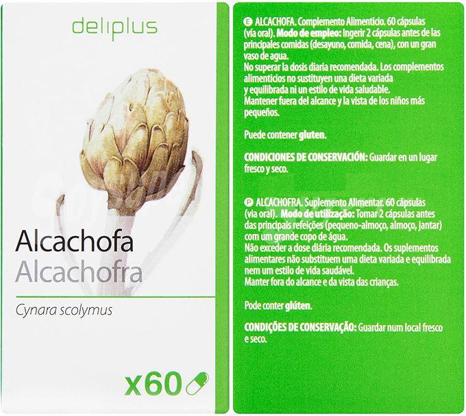 capsulas de alcachofa mercadona