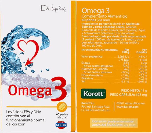 Omega 3 Mercadona