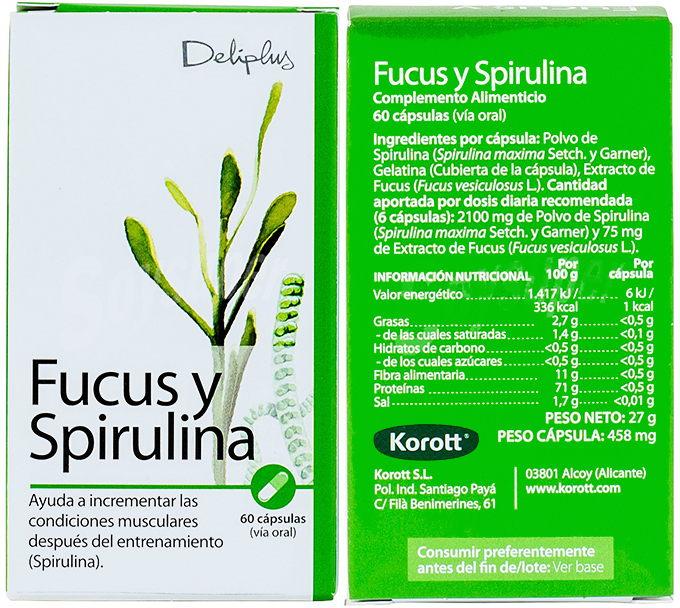 fucus y espirulina mercadona