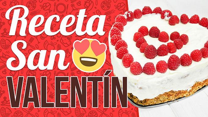 tartas de corazon para san valentin