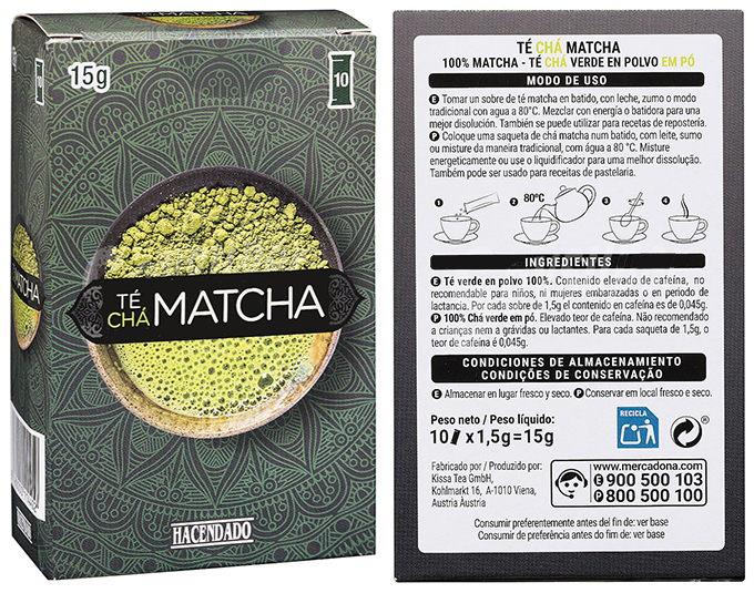 Te Matcha Mercadona