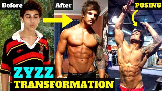 transformacion zyzz