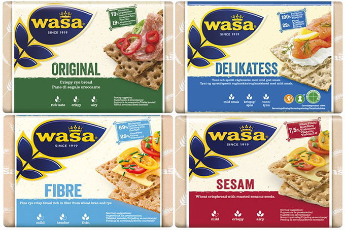 tipos de pan wasa